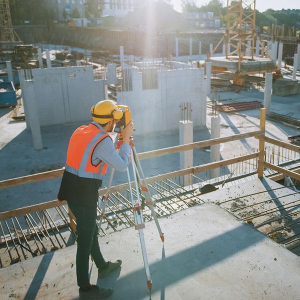 Geodeta naplacu budowy
